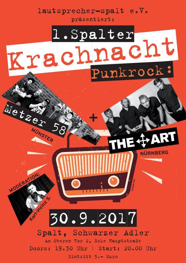 Flyer 1. Spalter Krachnacht